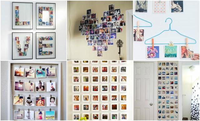 Fotos aufhngen mal anders  15 originelle Ideen