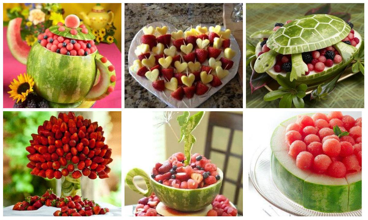 Leckere und gesunde Obst Snacks kreativ servieren  nettetippsde