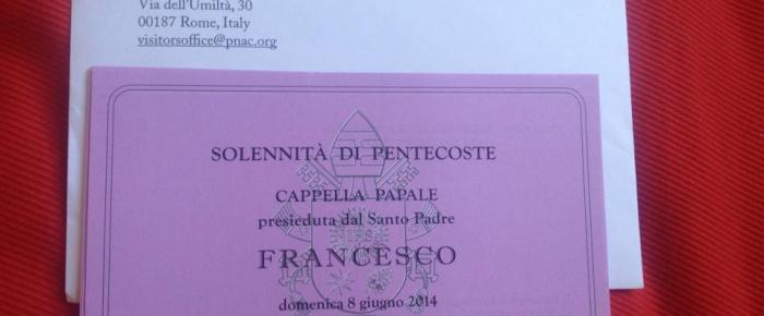 Pentecost Sunday With The Pope
