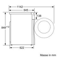 Bosch WDU28540EU Waschtrockner WaschTrockner