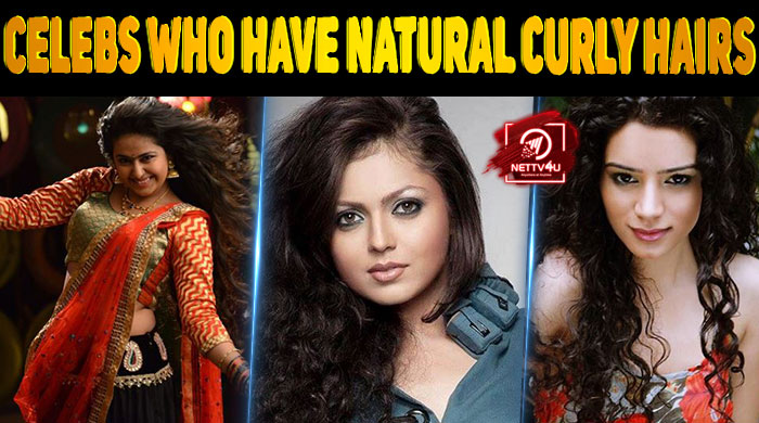 Top 10 Female Indian Celebrities Who Have Natural Curly Hairs