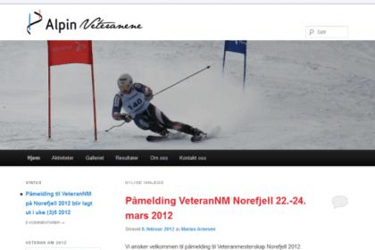 Alpinveteranene forside 2011-