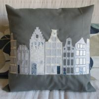 Amsterdam Applique Cushion