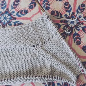 The beginning of Cross Pockets - nettynot blog