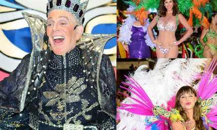 Carlos Perciavalle, Victoria Saravia y Giannina Silva a todo ritmo en Carnaval de Melo