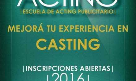 Valentino Acting comenzó sus inscripciones