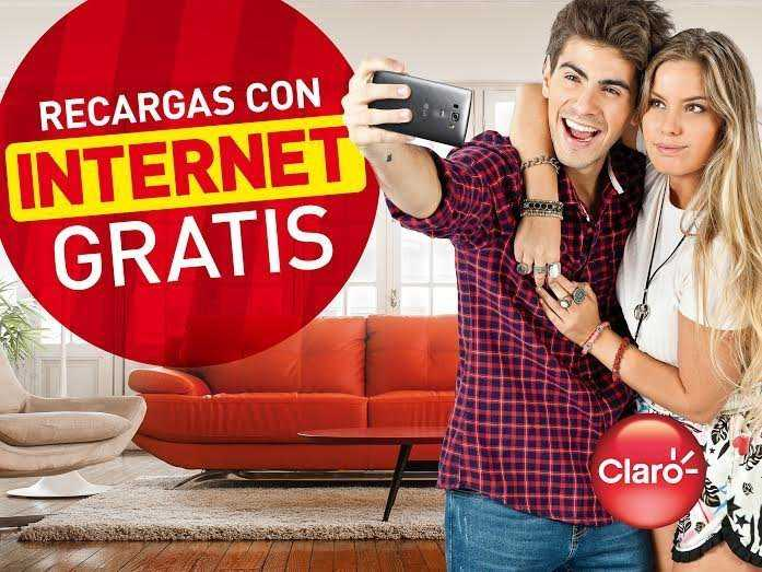 Clientes prepago de Claro reciben packs de Internet gratis con sus recargas