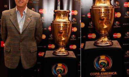 MasterCard presentó el Trofeo de la Copa América Centenario USA 2016