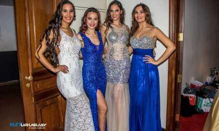 María Bonita presentó su línea Couture en la gran final de Miss Mundo Uruguay 2016