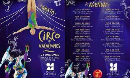 Circo en Punta Carretas Shopping para celebrar las vacaciones de invierno