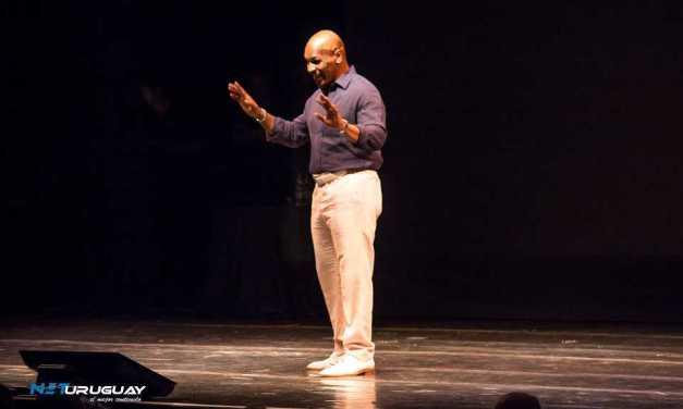 Tyson se presentó en Enjoy Conrad y conmovió al público con su historia de vida