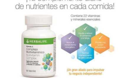 Herbalife lanzó un Complejo Multivitamínico con 22 vitaminas y minerales esenciales