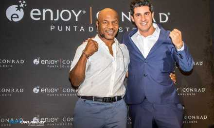 """Mike Tyson llegó a Uruguay para presentar su unipersonal """"Undisputed truth"""" en Enjoy Conrad"""