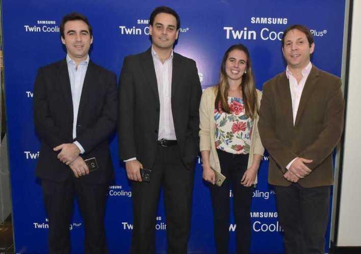 Gonzalo Ferrando, Ignacio Deagostini, Natalia Allo, Manuel Luelmo