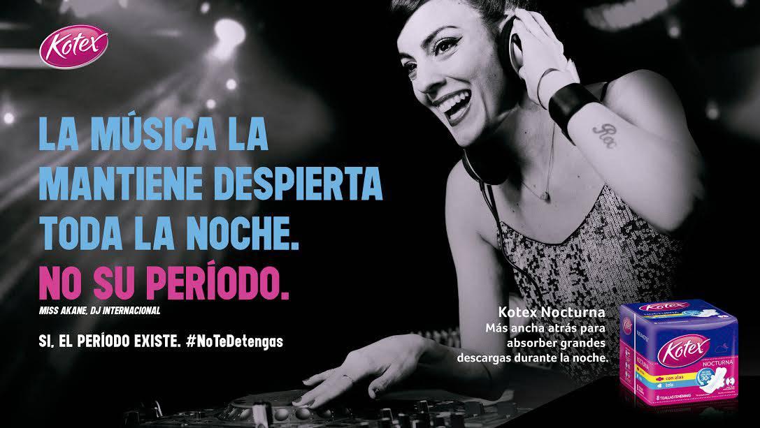 """Kotex lanza nueva campaña bajo el slogan """"No te detengas"""""""