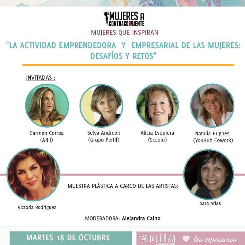 Emprendedoras y Empresarias en un nuevo ciclo de Mujeres a Contracorriente en Embajada Argentina