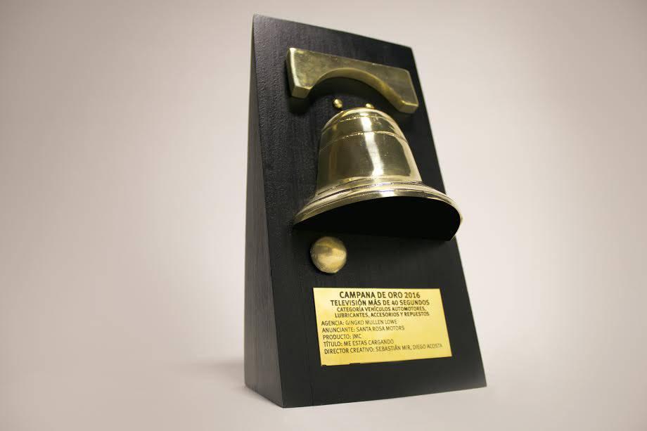"""La campaña """"Me estás cargando"""" de JMC fue premiada con una Campana de Oro"""