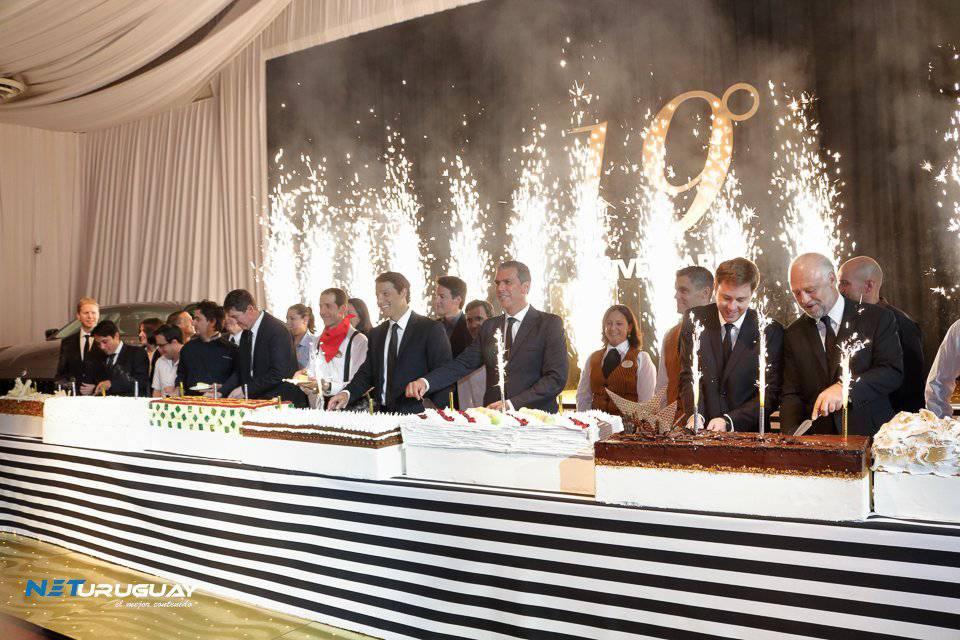 Enjoy Conrad celebró sus 19 años con una fiesta inspirada en Venecia y el show de Grace Jones
