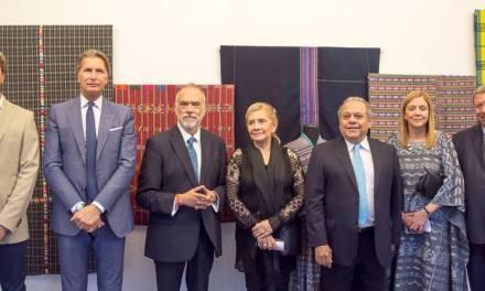 """INAUGURACIÓN DE LA MUESTRA """"TEXTILES DE GUATEMALA"""" EN EL MUSEO DE HISTORIA DEL ARTE"""