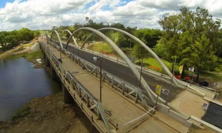 SACEEM finalizó la obra de dos puentes sobre el Paso del Bote, en la ciudad de Tacuarembó