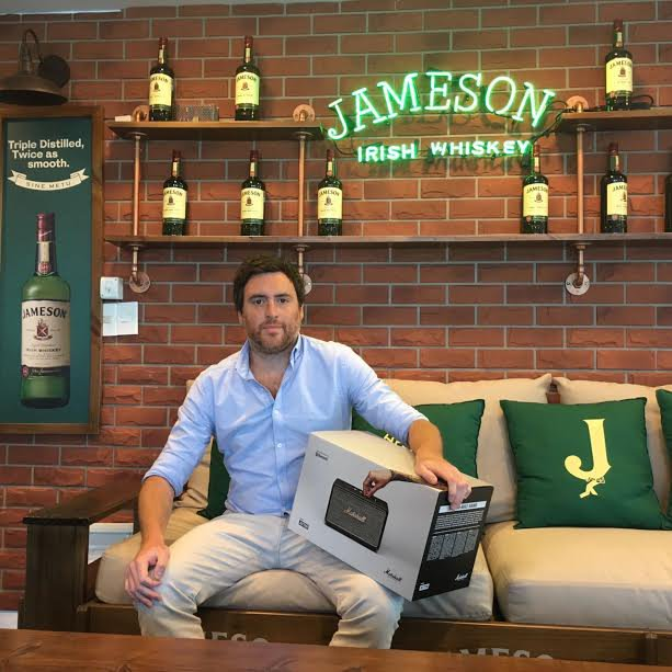 Jameson celebró el verano sorteando 30 parlantes Marshall
