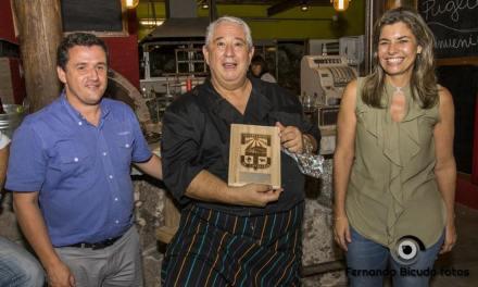 Sergio Puglia cocinó en vivo para más de 90 personas en Estación Penitente