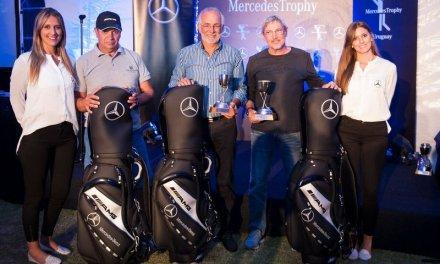 Golfistas de todo Uruguay se dieron cita en La Tahona para celebrar el MercedesTrophy