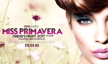 Éste sábado 5 de agosto se realizará Miss Primavera en Teatro Cantegril