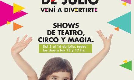 Las Piedras Shopping invita a espectáculos de circo, magia y teatro
