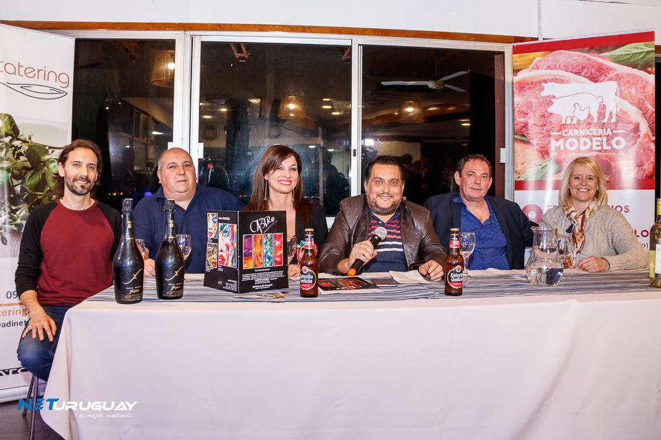 Conferencia de prensa previa a la gran cena show a realizarse el 28 de octubre con el chef Laurent Lainé