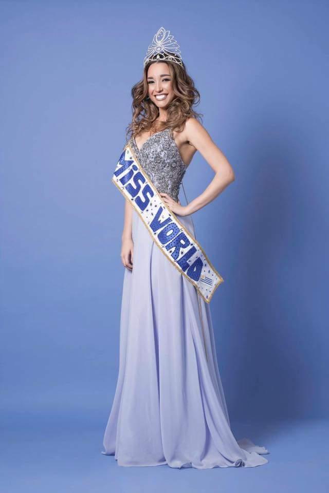 Melina Carballo ya palpita la gran final de Miss Mundo 2017 en China