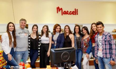 La Escuela Miss Uruguay visitó Marcel Calzados en un fin de semana intenso