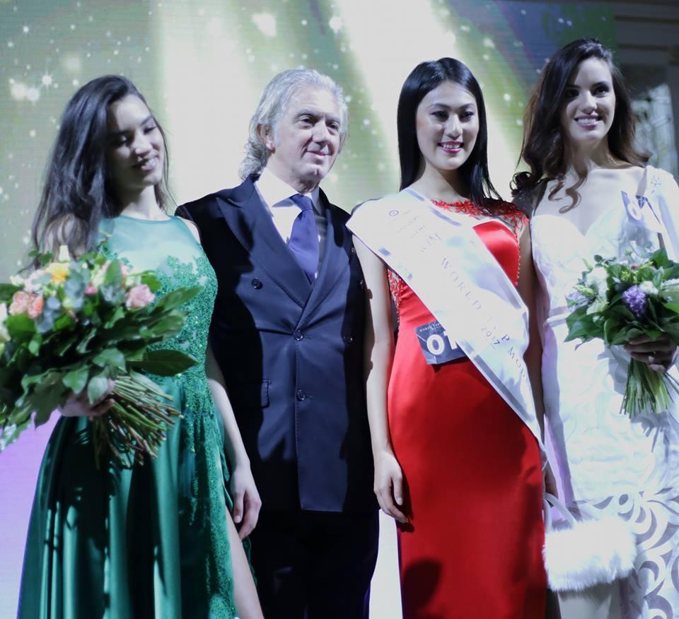 La melense Romina Trotto fue segunda en la final mundial del World Top Model en Budapest, Hungría