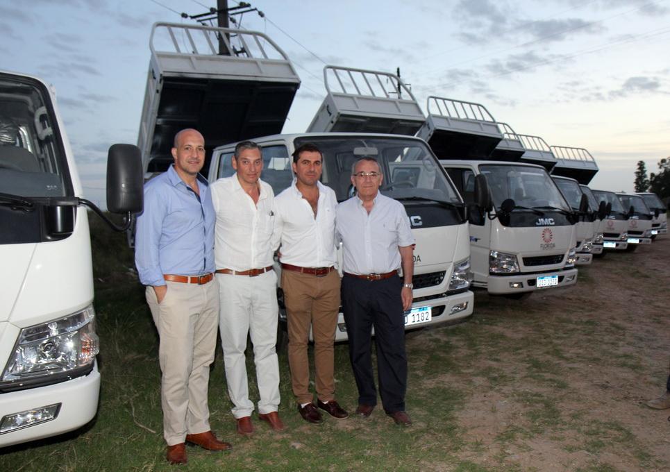 La Intendencia de Florida adquirió camiones JMC para fortalecer el trabajo en el departamento