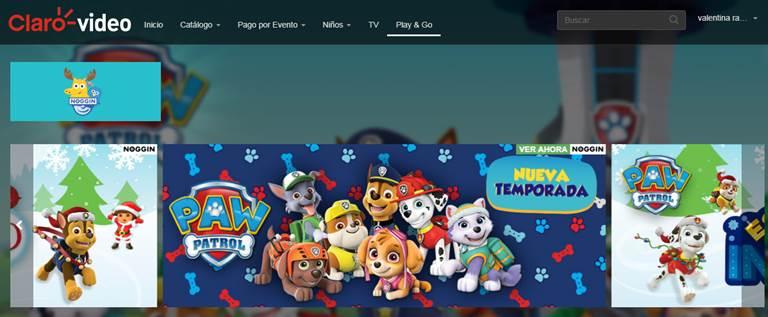 Claro Video amplía su propuesta para niños con una plataforma diseñada por Nickelodeon