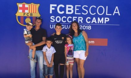 LUMIN SE SUMÓ A LA PRIMERA EDICIÓN DEL FCB ESCOLA SOCCER CAMP DEL BARÇA EN URUGUAY