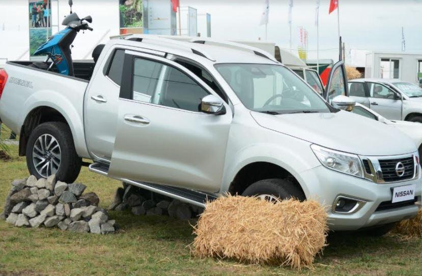 Nissan NP300 Frontier será por tercera vez el vehículo oficial de la Expoactiva Nacional