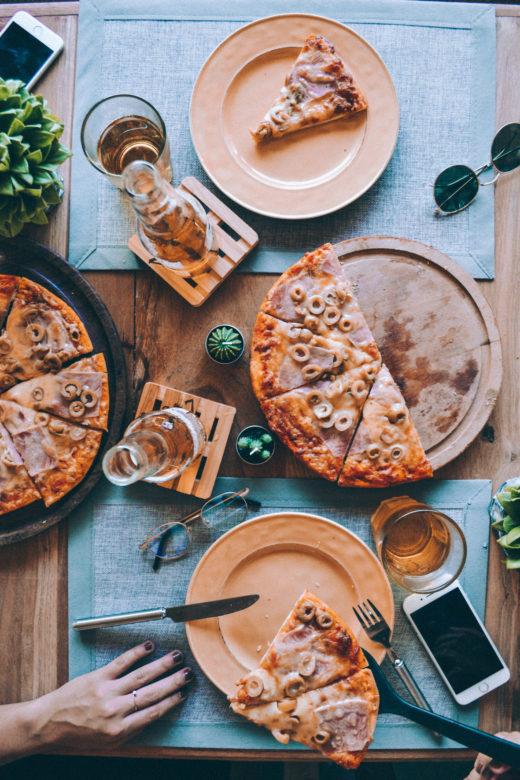 Los uruguayos posicionan a la pizza como el plato más elegido