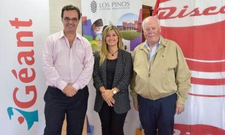 Campaña solidaria de Disco y Géant para ampliación de Los Pinos