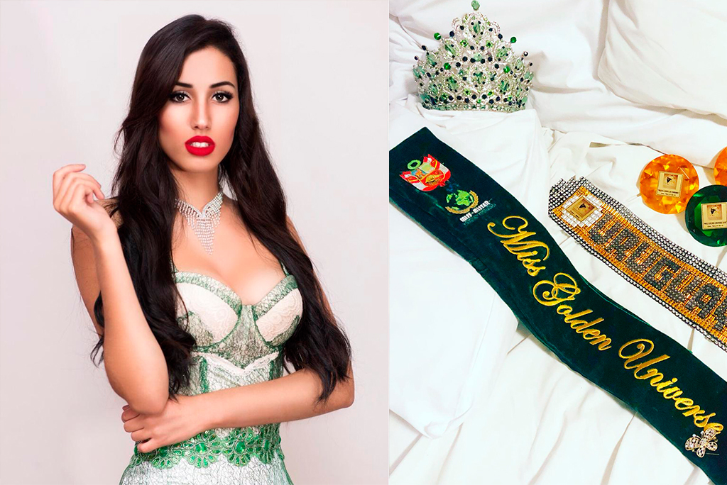 Mara Martínez rompió en llanto tras obtener el título Miss Golden Universe 2018