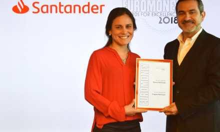 Santander elegido Mejor Banco de Uruguay por Euromoney