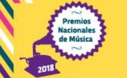 Inscripciones a Premios Nacionales de Música 2018