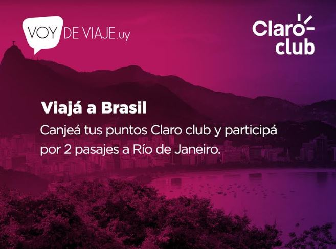 Claro Club premia la fidelidad de sus clientes con un viaje a Río de Janeiro