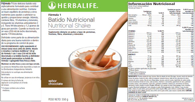 Cómo leer una etiqueta de Información Nutricional
