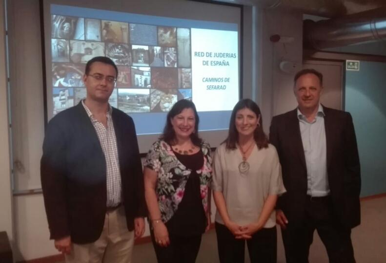 En el marco de la gira internacional se realizó en Montevideo la presentación de la Red de Juderías de España – Caminos de Sefarad