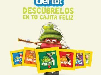 McDonald's presenta nuevas opciones de libros en la Cajita Feliz, para estimular la creatividad y la imaginación de los niños