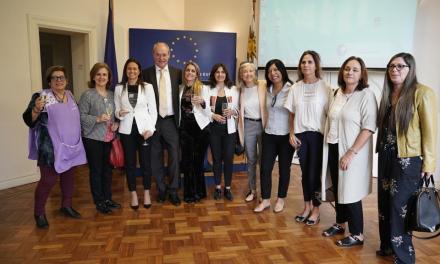 El Premio Derechos Humanos 2018 de la Unión Europea reconoció a la Fundación Canguro