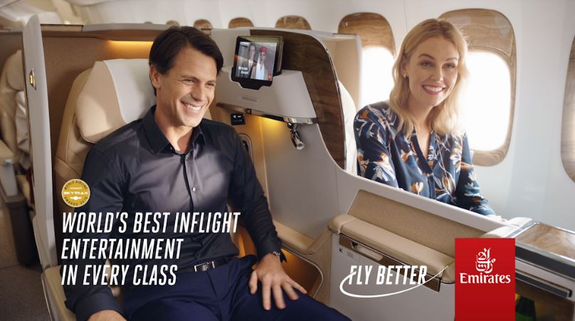 """Emirates invita a los viajeros a vivir la experiencia """"Fly Better"""""""