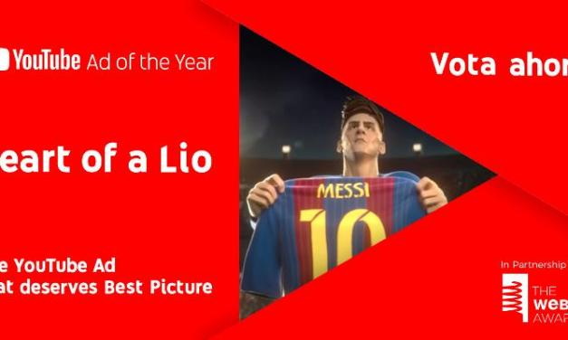 """Heart of a Lio"", la biopic animada de Messi, única producción argentina nominada al premio #The You Tube Ad of The Year"