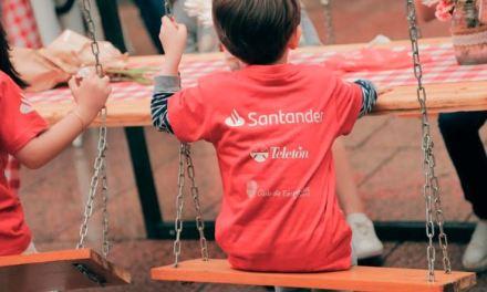 Los voluntarios de corazón de Santander sumaron su esfuerzo para alcanzar la meta de Teletón